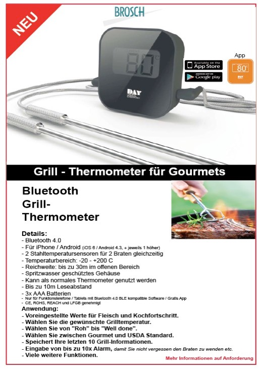 DAY Grill Thermometer